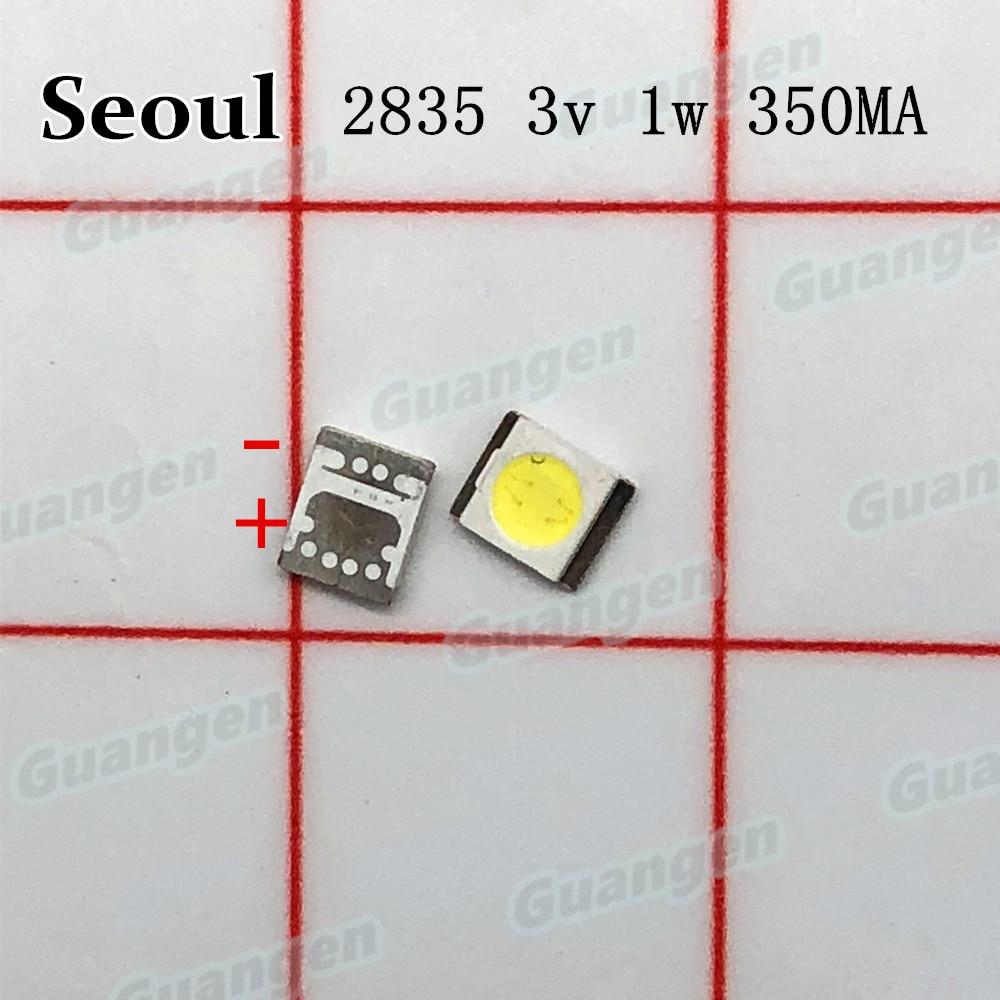 8000pcs For SEOUL LED Backlight 1210 3528 2835 1W 100LM Cool white SBWVT121E LCD Backlight for