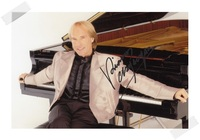 Richard Clayderman autographed signed with pen photo 4*6 inches freeshipping 02.2017