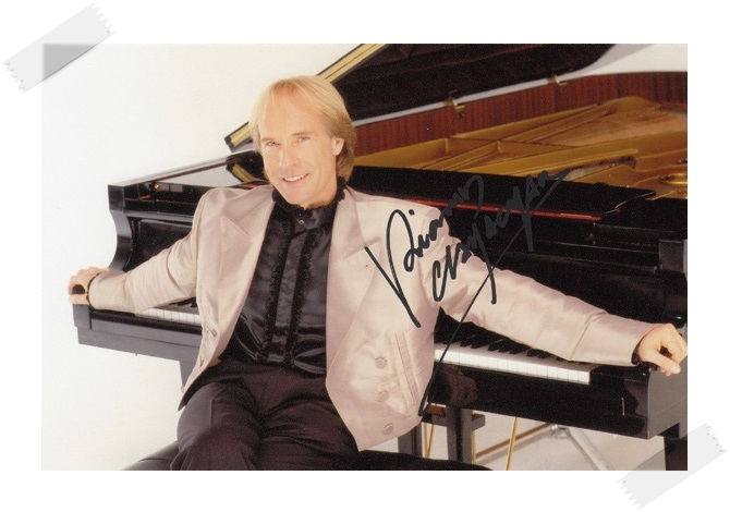 Richard Clayderman autographed signed with pen photo 4*6 inches  freeshipping 02.2017 signed cnblue jung yong hwa autographed photo do disturb 4 6 inches freeshipping 072017 01