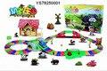 Оптовая электрические рельсовых автомобиль игрушечный автомобиль мальчик Томас железнодорожных поезд детские игрушки лучший Рождественский подарок Детям Игрушки На на складе