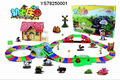 Atacado trilha trilho elétrico carro de brinquedo carro menino Thomas ferroviário trem brinquedos para melhor presente de Natal para Crianças Brinquedos das crianças Em estoque