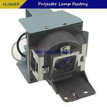 Лампа проектора с корпусом 5j j4s05001 для benq mw814st гарантией