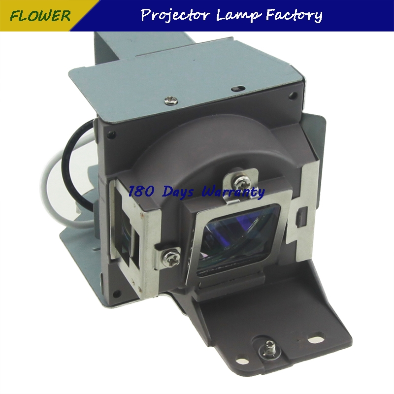 Projector bulb with housing 5J.J4S05.001   for BENQ MW814ST With 180 days Warranty Happybate 5 1w led bulb with ceramic housing