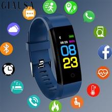 Bluetooth Smart Watch Men Women Fitness Digital Sport Watch Smart Wristband Heart Rate Monitor Smartwatch Pedometer PK Mi Band 3 цены