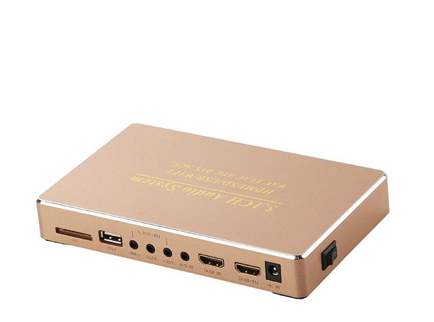 Tragbares Audio & Video Al51 Audio Video Player 5,1 Kanal Dts Audio Decoder System Dts Dolby Ac3 Decoder Für 5,1 Verstärker Clear-Cut-Textur Unterhaltungselektronik