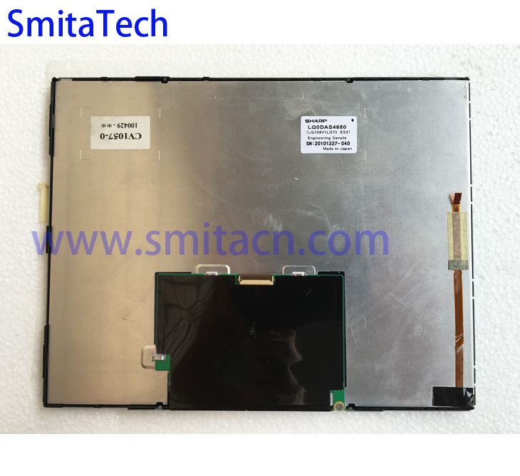 10.4 inch For SHARP LQ0DAS4680 LQ104V1LG73 ES2 industrial TFT LCD Display Screen replacement Panel neri karra 0143 3 01 50