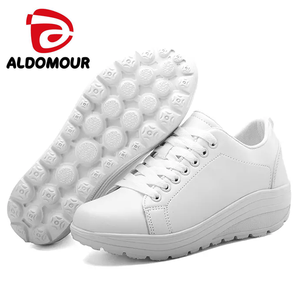 ALDOMOUR 2017 Women Sport for Light Up Women Swing Wedges Platform zapatos  mujer 53218a4928c7d