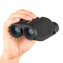 TOMSHOO Outdoor Camping Hiking Telescope Binocular  Mini Portable 10X25CF Scope for Fishing Birdwatching Travelling