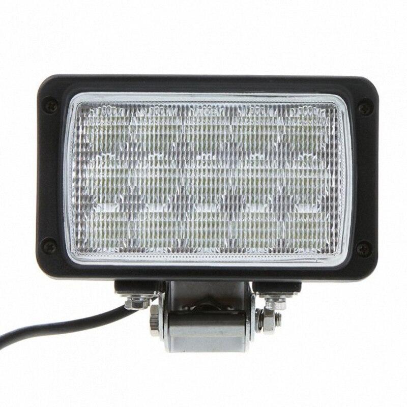ФОТО 45W Heavy-duty Off Road LED Work Light floodlight, LED Driving Light for ATV UTV 4x4 Truck Tractor deck Lighting Airboat