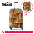 Waterproof Weave Pattern Protective Covers For 18-30 inch Travel Suitcase Bamboo Elastic Trolley Luggage Covers Accessories