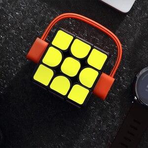 Image 3 - ألعاب تعليمية ملونة للرجال والنساء من Youpin Giiker super smart cube App comntrol عن بعد