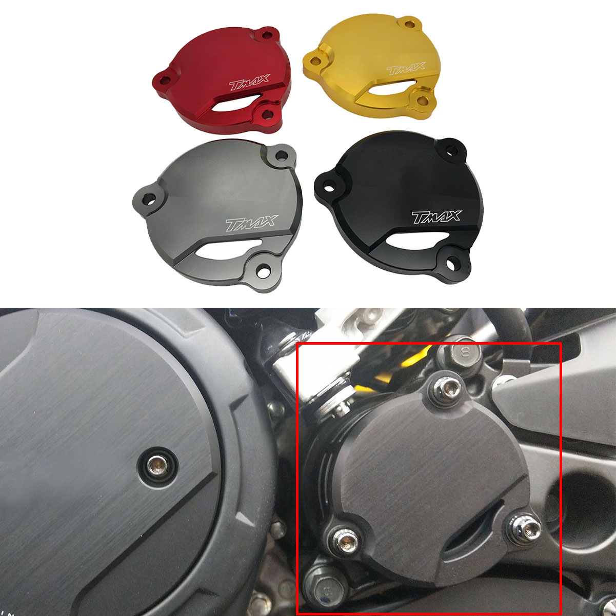 TMAX 530 Motorcycle For Yamaha TMAX530 2012-2019 2020 Near Engine Protective Decoration Shaft Cover Guard T MAX 530 Accessories