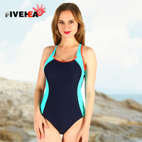 FIVE HEAD Women Conjoined Movement Comfortable Bikini One Shoulder Belt Is Safe And Convenient