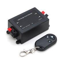 3 ключа РЧ пульт дистанционного управления беспроводной светодиодный Одноцветный Диммер контроллер 12 в 24 В DC 8A
