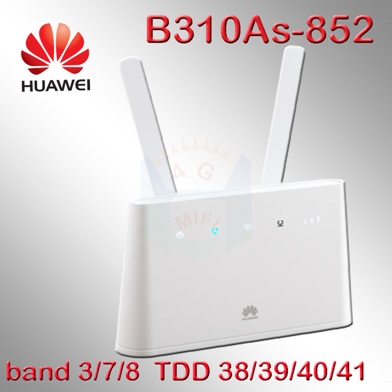 Unlocked Huawei B310 External Antenna B310As-852 4g Lte Router With Sim Card Slot With Antenna Outdoor Router 4g Sim Portable