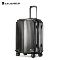 Dacyrwon 20 24 28 чемодан с колесами багаж сумка тележка сумки и чемоданы
