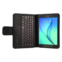 Luxury Detachable Bluetooth Keyboard Folio Stand Leather Case Cover For Samsung Galaxy Tab A 8.0 T350 T351 T355C P350 P355C 8