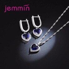 Fine 925 Sterling Silver Wedding Jewelry Sets