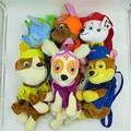 Anime patrulla Patrulla canina morral de la felpa 40 CM cachorro felpa mochilas niños cachorro perro patrulla figura de anime juguetes regalos de navidad
