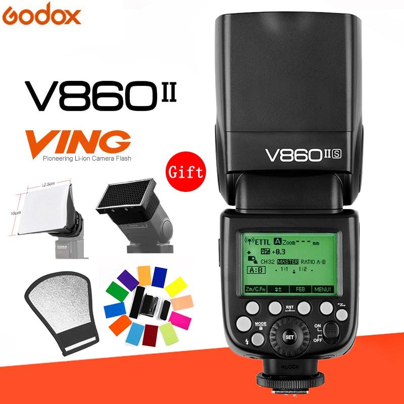 Godox Ving V860II V860II C N S O F E TTL HSS 1 8000 Speedlite Flash