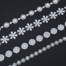 Multi-element Rhinestone Chain Inlay Detachable DIY Suitable for Shoe Bag Clothing Multi-function Belt