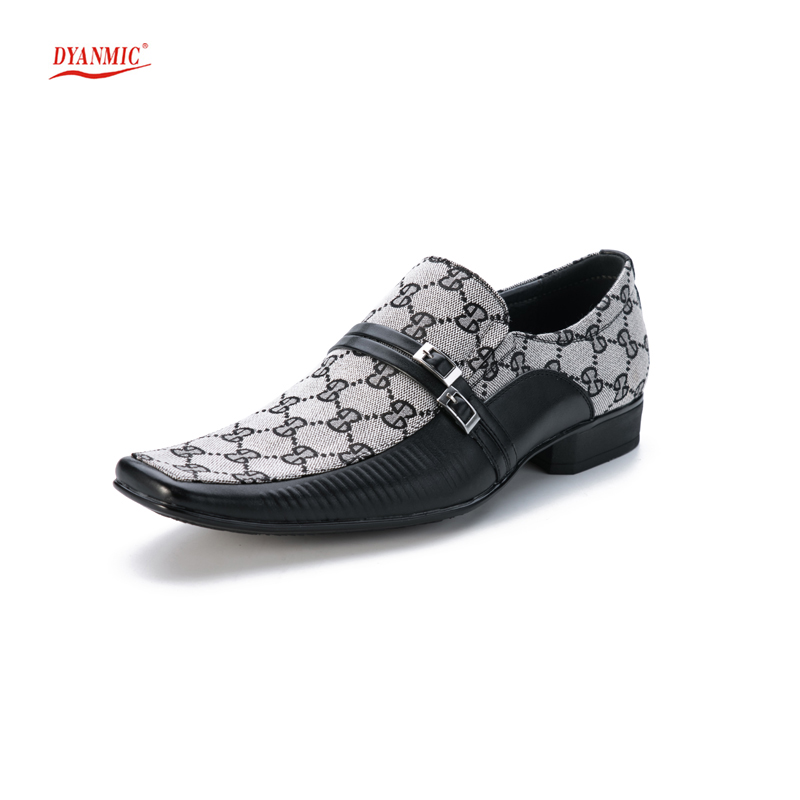 New Men Slip on Buckle Dress Fromal Office Loafer Shoes Male Oxfords DYANMIC Handmade Business Shoes