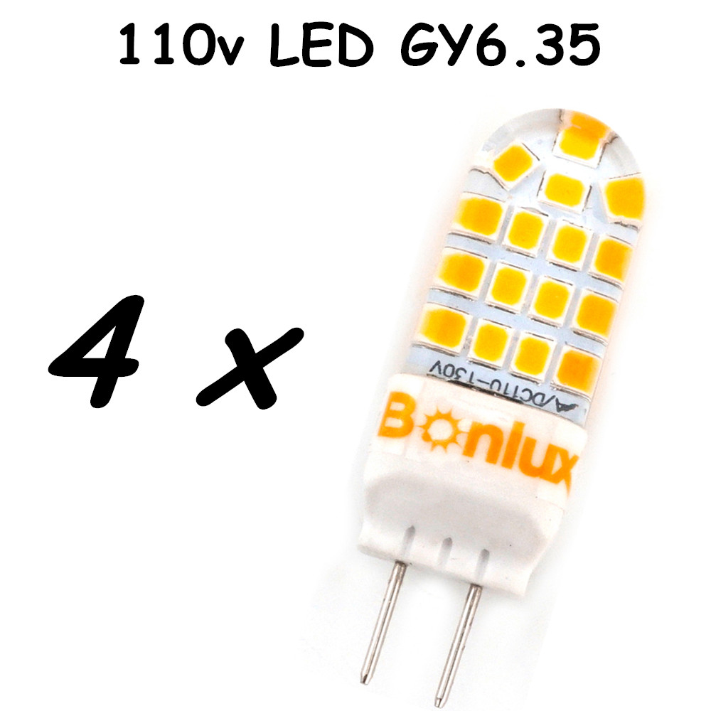 5W LED GY6.35 Silicone Corn Bulb 40W Gy6.35 Halogen Replacement 110V G6.35 Bi-pin Base LED Crystal Ceiling Light Bulb