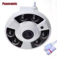 Панорамный ip-камера 720 P 960 P 1080 P дополнительно Широкий Угол Fisheye 5MP 1.7 мм объектив камеры видеонаблюдения indoor Onvif 6 Массив ИК Led