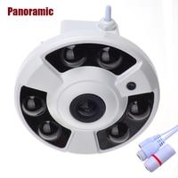 HOBOVISIN Panoramic IP Camera 720P 960P 1080P Optional Wide Angle FishEye 5MP 1 7MM Lens Camera
