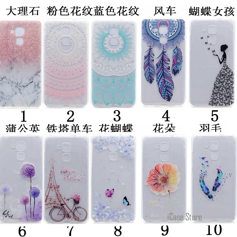Di alta Qualità Cute Cartoon Cassa Del Telefono Per Huawei Honor 5C Morbida Gel di Silicone Casi Phonet Pone Csse Copertura Casa Per Huawei Honor 5C