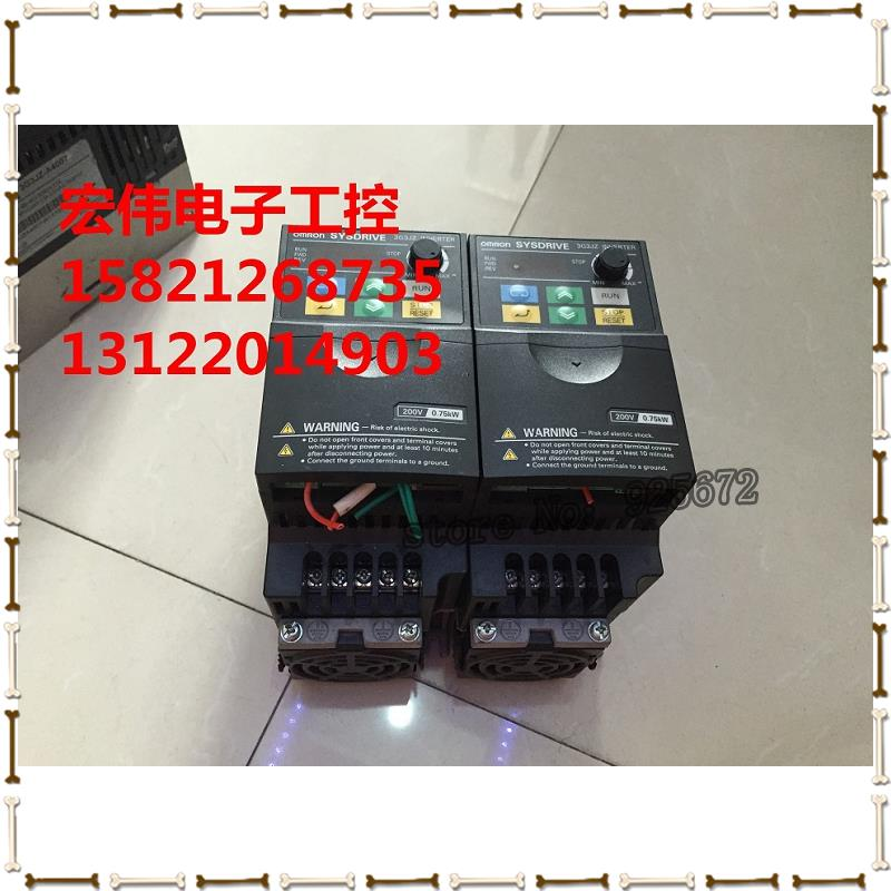 inverter 3 g3jz - AB007 photo 0.75 KW 200 v has been test package is good!