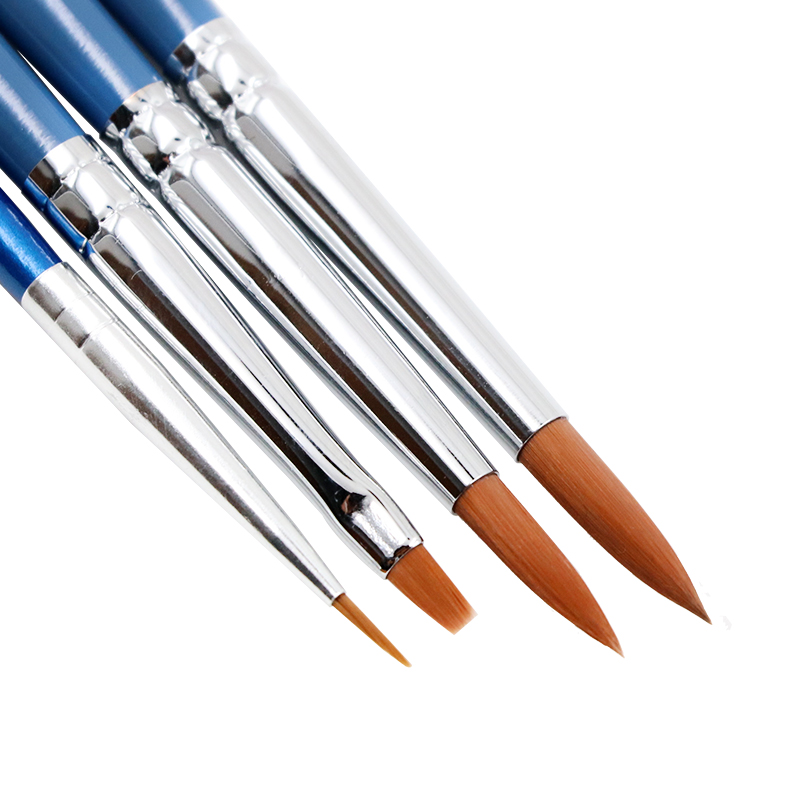 Dental Resin Brush Pens Porcelain Brush Pen Shaping Silicone Brush For Adhesive Composite Cement Porcelain Teeth Dentist Tools