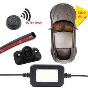 자동차 무선 버튼 제어 Diy 설치 맹점 감지 측면보기 카메라 주차 모니터 DVD 감지 가시 시스템