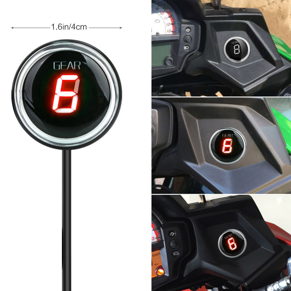 IDEA Waterproof Motorcycle Gear Indicator Plug For Kawasaki VERSYS