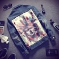 2016 New Autumn Style Men's Jean Jacket Famous Brand Jeans Jacket Men High Quality 5XL Denim Jean Jacket Coat Male Hot Sale