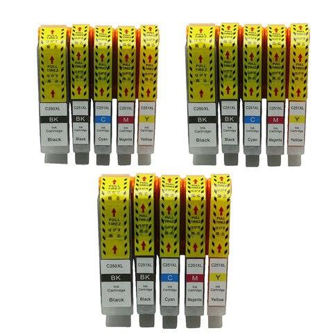 bulk ink igp 250 xl cartuchos de tinta compativeis para canon pixma cli 251xl mg7120