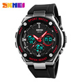SKMEI 1187 Men Digital Watch Dual Time Display Sport Watches Chronograph Alarm Clock Water Resistant Wristwatches New