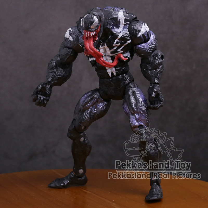 Original genuíno veneno pvc figura de ação collectible modelo brinquedo 7 polegada 18cm