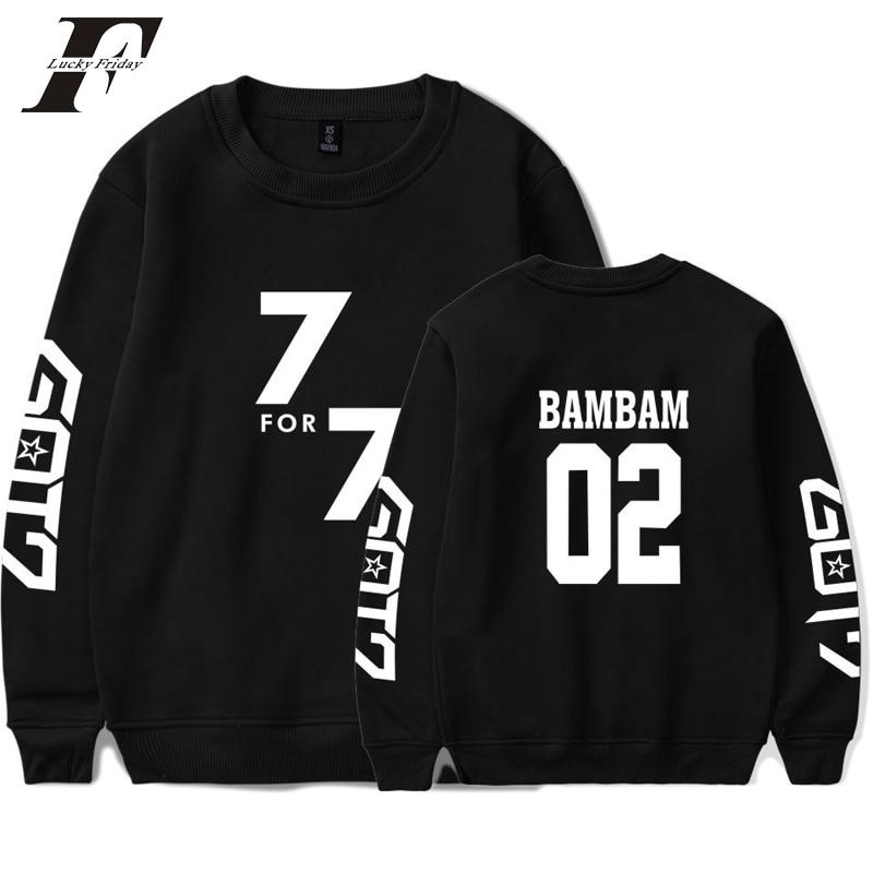 Methodical Luckyfridayf 2018 Bts Got7 K-pop Korean K-pop Autumn Winter Sweatshirt Women Capless Sweatshirt K-pop Hip Hop Female Fans Idol Lovely Luster Women's Clothing