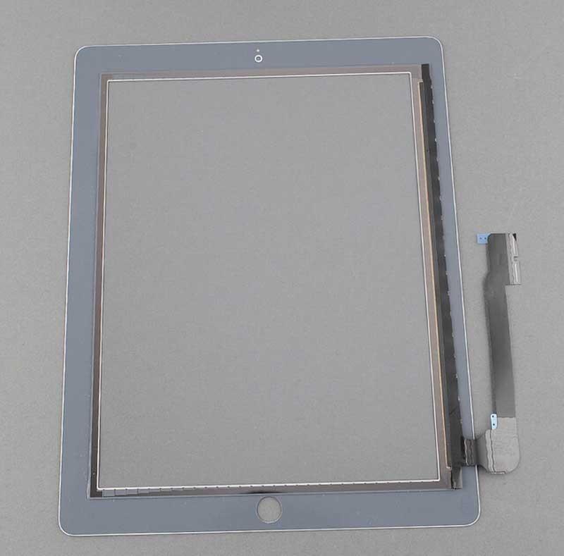 для для iPad 4 a1458 a1459 a1460 сенсорный экран планшета стеклянный объектив замена + ремкомплект инструмент быстрая доставка белый