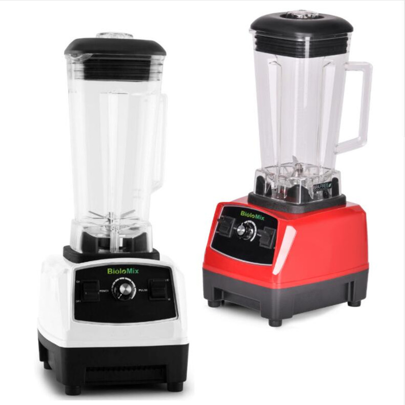 2200 W 2L sans BPA Restaurant professionnel mélangeur de nourriture presse-agrumes mélangeur pour smoothies mélangeur de puissance livraison gratuite