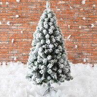 240 см Рождество Искусственный Поддельные дерево белый кедр Снежинка ёлки снег стекаются дерево новый год аксессуары для дома праздник Mall