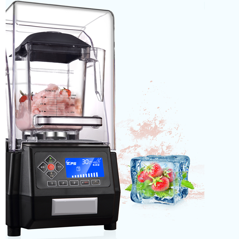 New Design Ice Smoothie Commercial Bar Blender Smoothie Ice Cream Fruit Juice Blender