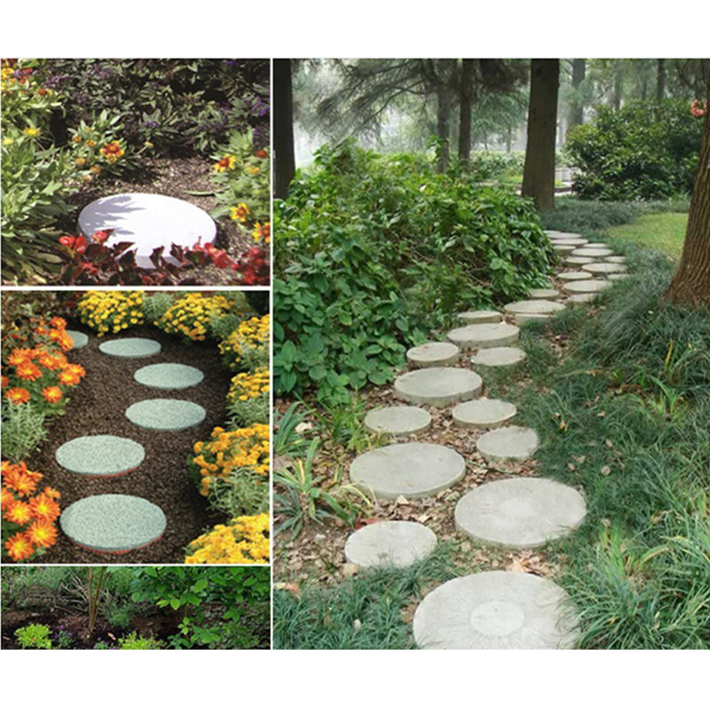 cheapest Driveway Paving Mold Brick Concrete Walkway Paver Walk Maker Plastic Floor Mold For Garden Courtyards Patios Walks