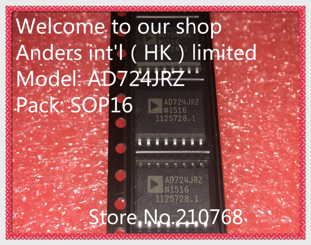 5PCS NTSC//PAL Encoder IC ANALOG DEVICES SOP-16 AD724JR AD724JRZ