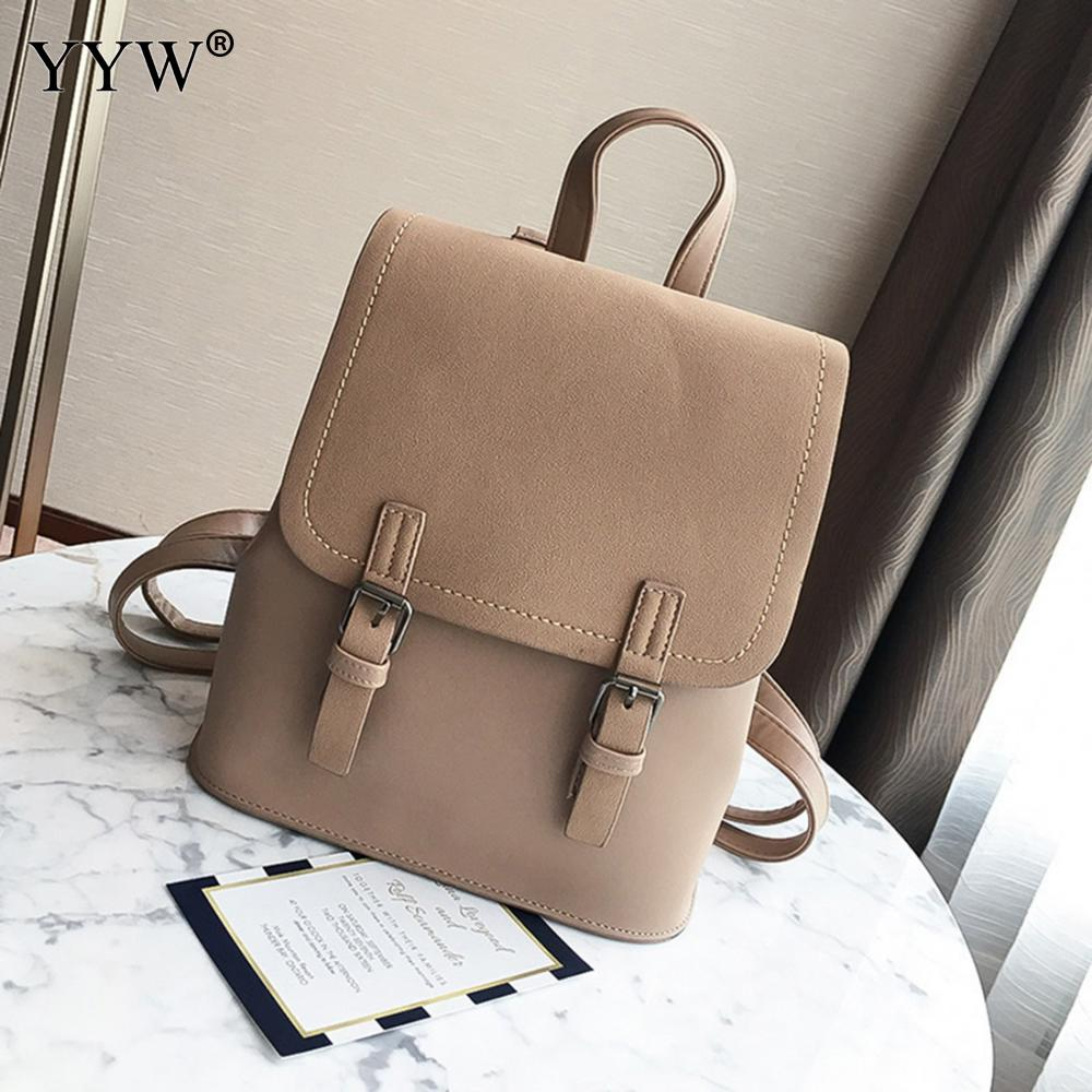 Leather Backpack Shell Shape Rucksack New Year Gift School Bag For Teenage Girls Solid Casual Travel Backpack Mochila Feminina
