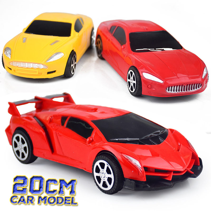 20CM Car Model Toy Luxury Car Manual Model Decoration Cheap Toy Gift For Children