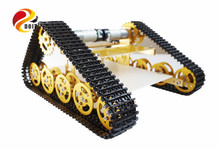 Official DOIT Updated Version RC Metal Tank Car Chassis Crawler Caterpillar with Hall Sensor Walle Wall-e Car Robot Chassis DIY