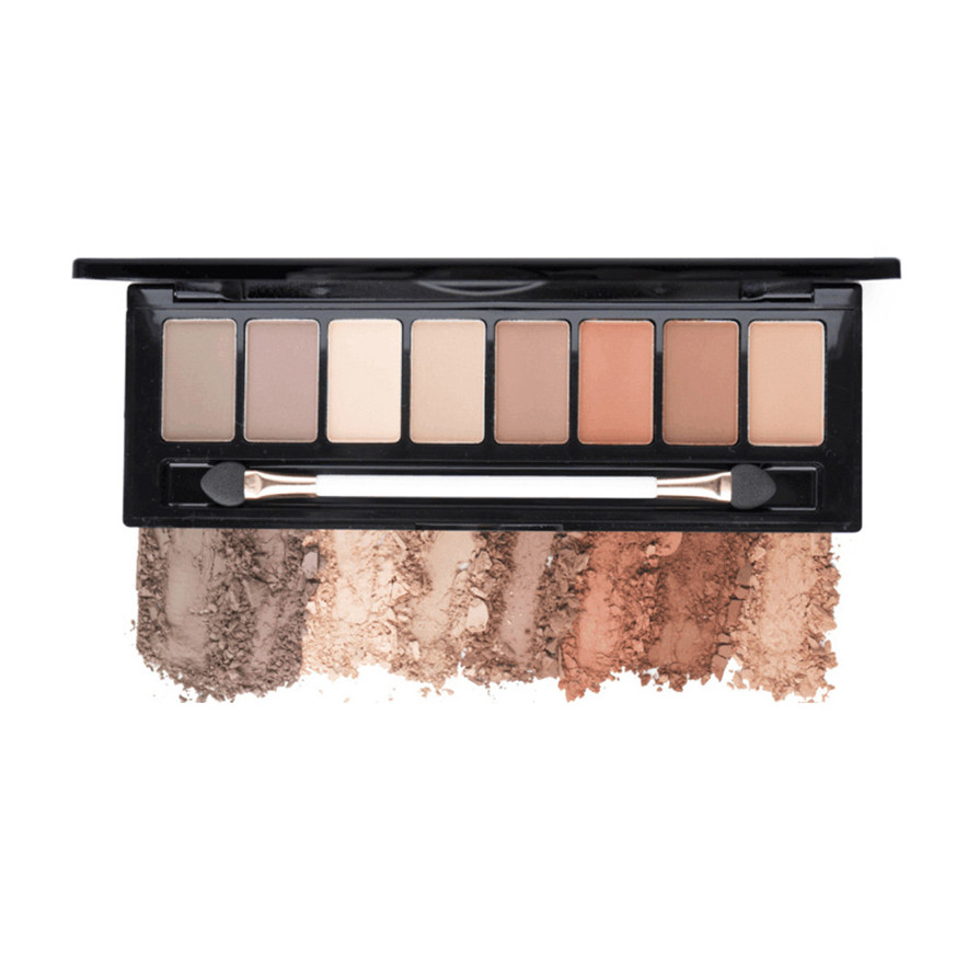Outtop High Quality 8 Color Nude Makeup Eye Shadow Palette -2244