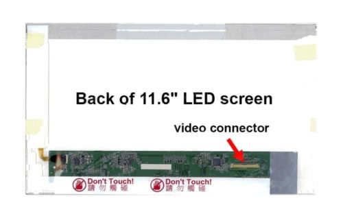 LCD Screen 11.6 inches Display LED Fit B116XW02 V.1 V.0 LP116WH1 TL B1 A1 N116B6-L02